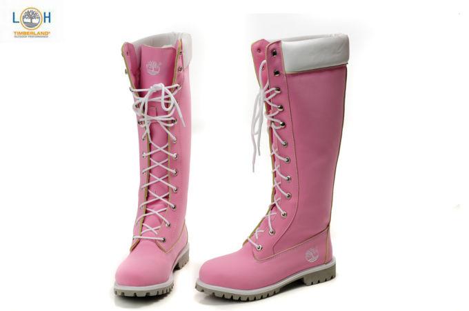 timberland femme pink