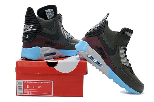 meilleur service 094d1 6d22e Nike Air Max 90 High Homme à commander sur Zalando air max ...
