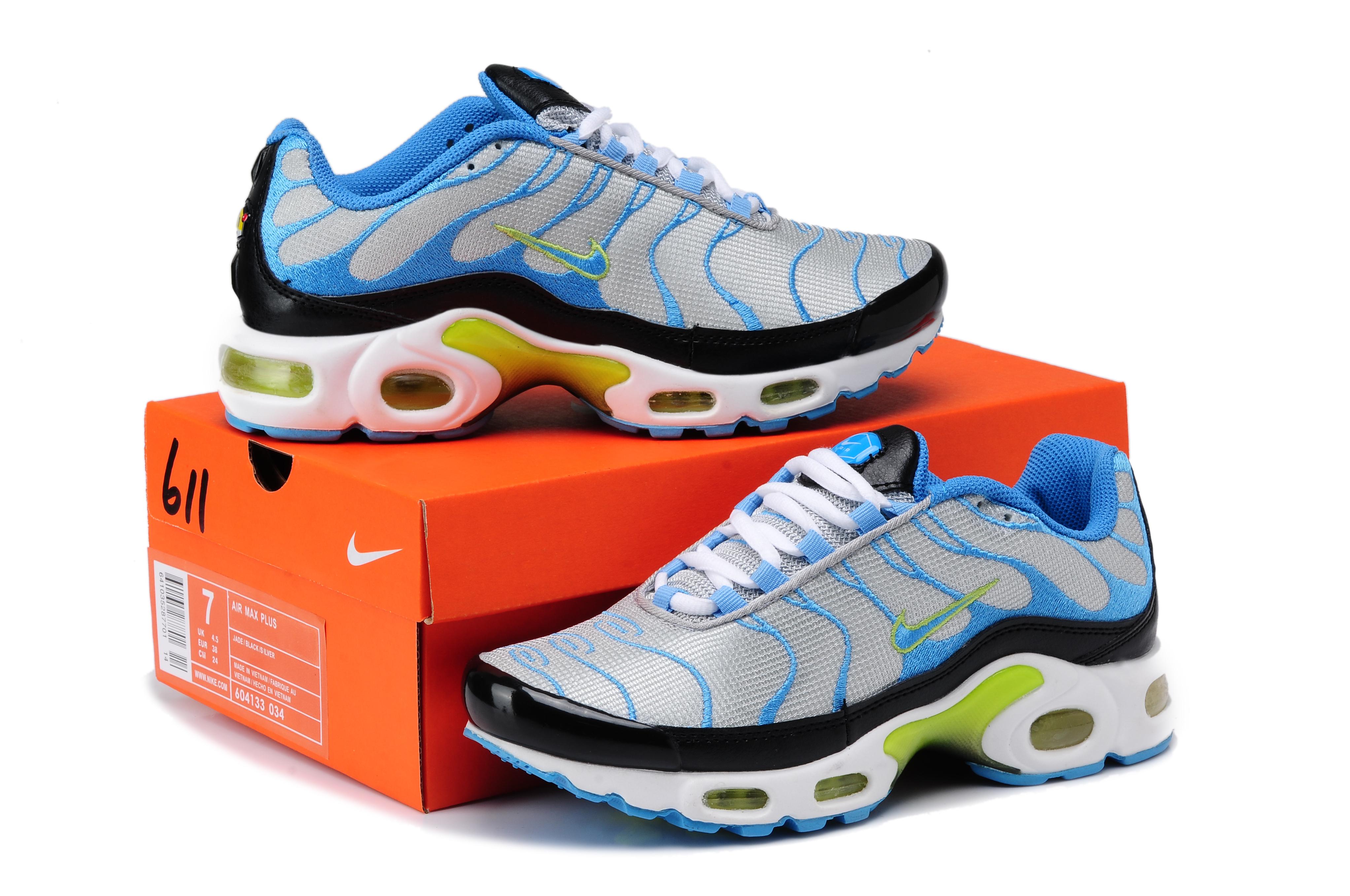 abe38fe7e3d Nike TN 2016 Femme Homme tn Requin Nouveaux Femme chaussures nike ...